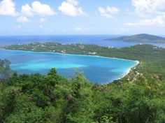 """""""5 Best Beaches on the US Virgin Islands: Magens Bay in St Thomas"""""""