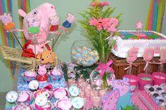 Decoração Peppa Pig – Sofia 2 anos – Inspire sua Festa ®