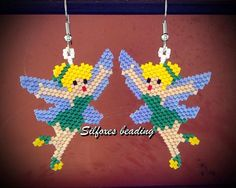 #silfoxesbeading #beading #brickstitch #trilly #tinkerbell