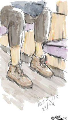"""""""Le vif du sujet"""" #250 L'intégrale des illustrations ici : http://azotecomics.com/vifdusujet"""