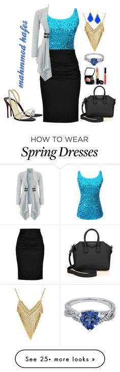 """""""mahmmod"""" by mahmmodhafes on Polyvore featuring Paule Ka, WHATEVER, Lipsy, Kendra Scott and Givenchy"""