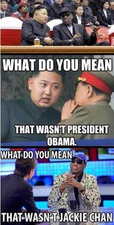 Still the Best Medicine.....North Korea Kim Jong Un's War Threats.....and other Jokes and Memes...II