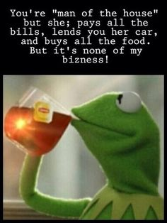 kermit none of my business