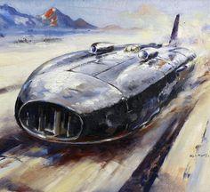 1938 Thunderbolt, by H. J. Moser