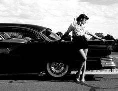 43 Best Portraits With Classic Cars Images On Pinterest