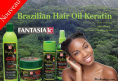 Traitement à la  kératine brésilienne Fantasia IC