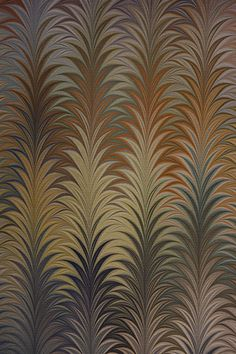 Example of hand-marbled paper, which has been used on the covers and endpapers of beautiful books for hundreds of years. Marbled paper by Susan Pogany.