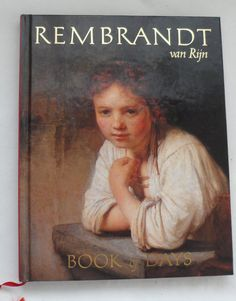Vintage Rembrandt Book Of Days  New Never Used Book of by BYGONERA