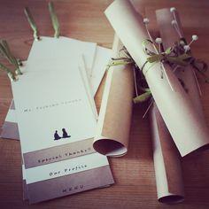シンプルでセンスいい♡結婚式のナチュラルでスタイリッシュなメニュー表まとめ一覧♡