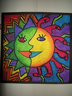 WHAT'S HAPPENING IN THE ART ROOM??: 4th Grade Aztec Sun