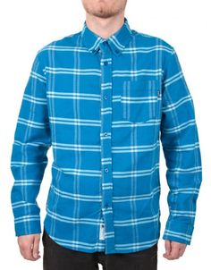 36b8ad2712ace Buy Uprising Flannel Shirt - Blue by Undefeated from our Clothing range -  Blues -   fatbuddhastore