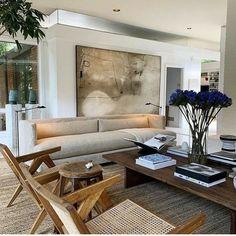 Living Room Interior, Home Living Room, Home Interior Design, Living Room Designs, Living Room Decor, Living Spaces, Interior Livingroom, Living Room Inspiration, Home Decor Inspiration