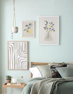 Set of 3 neutral boho wall digital print