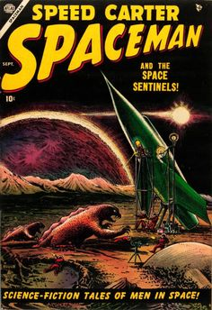Speed Carter Spaceman and the Space Sentinels