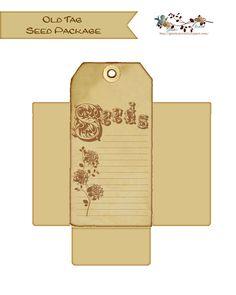 glenda's World : Seed Packet / Envelope Templates