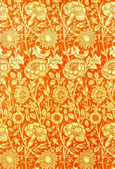 William Morris -- this is wallpaper, but I think it would be pretty as fabric.