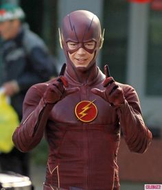 Grant Gustin Shows Off His Flash Moves in Vancouver @gtl_clothing #getthelook http://gtl.clothing