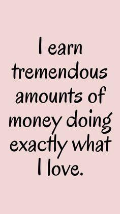 Positive Affirmations Quotes, Wealth Affirmations, Law Of Attraction Affirmations, Affirmation Quotes, Positive Quotes, Positive Vibes, Positive Things, Manifesting Money, Motivation