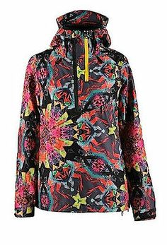 Volcom Snow SEQUOIA PULLOVER Snowboard Jacket AUTHENTIC Womens Small NEW  2014 Burton Ski Jackets b4764dd45
