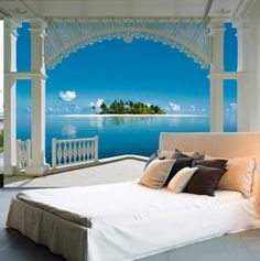 A Perfect Day Wall Mural. Make You Think You Are Living In Paradise. Part 14