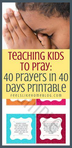 Printable Prayers, Bible Verses For Kids, Overwhelmed Mom, Prayers For Children, Beautiful Prayers, Prayer Times, Christian Kids, Prayer Cards, Finding Joy