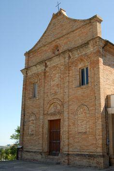 Chiesa di S. Maria dei Martiri del XVI° sec. #marcafermana #petritoli #fermo #marche