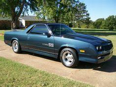 1986 El Camino SS | 1986 Chevrolet El Camino SS Choo-Choo - $19,995 USD