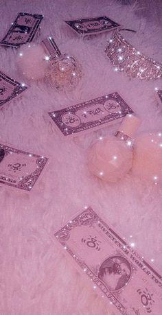 Pink Glitter Wallpaper, Pink Wallpaper Girly, Sassy Wallpaper, Iphone Wallpaper Themes, Aesthetic Iphone Wallpaper, Aesthetic Wallpapers, Crown Aesthetic, Aesthetic Space, Pink Tumblr Aesthetic