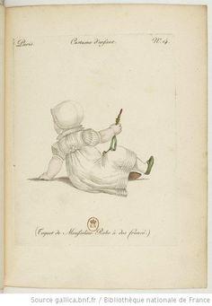 Child's Cotton Ensemble with shirred back - Paris, France - 1810
