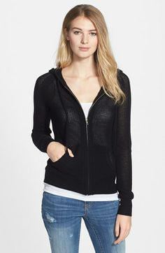 Halogen® Wool & Cashmere Hoodie available at #Nordstrom