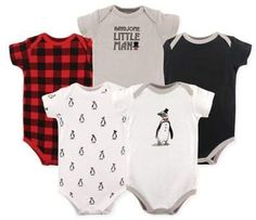 These adorable Penguin Hanging Bodysuits from Hudson Baby feature a variety of stylish prints your little one will love. The trendy bodysuits are super comfortable and soft on your baby's skin and look great alone or as underwear. The Babys, Baby Vision, Newborn Schedule, Baby Boy Newborn, Baby Baby, Carters Baby, Newborn Baby Clothes, Baby Girls, Newborn Outfits