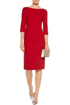 GoatMarcelle wool-crepe dressfront