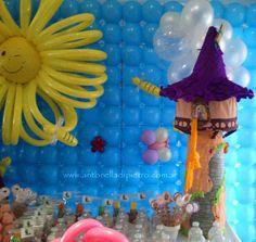 piñata torre de rapunzel