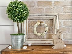 My 2021 Farmhouse Style Easter Home Tour Rustic Farmhouse, Farmhouse Style, House Tours, Ladder Decor, Easter, Decorating, Wood, Diy, Inspiration