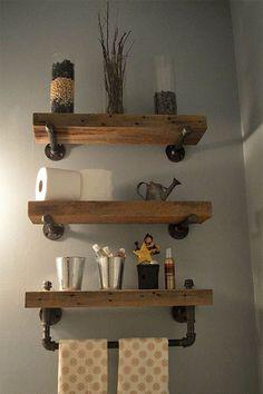 Rustic farmhouse bathroom remodel ideas (80)