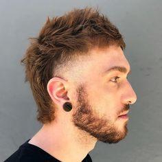 Top 10 Short Mullet Hairstyles for Men – Cool Men& Hair Mohawk Hairstyles Men, Short Hairstyles For Thick Hair, Curly Hair Men, Haircuts For Men, Short Hair Cuts, Curly Hair Styles, Short Mens Cuts, Top Hairstyles For Men, Men's Haircuts