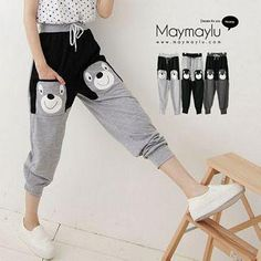 Buy 'Maymaylu Dreams – Bear Pocket Sweatpants' with Free International Shipping at YesStyle.com. Browse and shop for thousands of Asian fashion items from Taiwan and more!