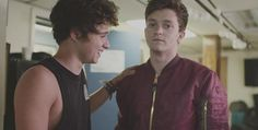 New photo of Brad (@TheVampsBrad) and Connor just posted on Instagram by Dean! [itsdeansherwood] #TeamVampettes