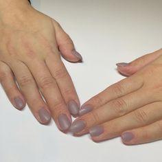Plain Jane for my first mani at Dallas Beauty Lounge #dallasbeautylounge #pittsburgh #acrylic #acrylicfill #gelish #gelpolish #prohesion #matte by dallasbeauty_ashleynicole