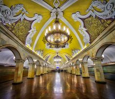 Moscow Subway Stuck In Customs | HDR Photography, Travel Photography and Camera Reviews