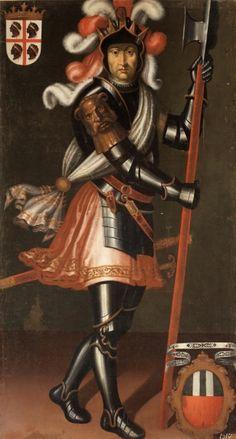 Pedro Sánchez I, King of Aragon by Felipe Ariosto Army History, European History, Kingdom Of Navarre, Genesis Bible, Renaissance Garb, Royal Families Of Europe, Holy Roman Empire, Baroque Art, Historical Art