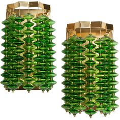 Pair of Large Swedish Mid-Century Modern by Hans-Agne Jakobsson, Markaryd | From a unique collection of antique and modern wall lights and sconces at https://www.1stdibs.com/furniture/lighting/sconces-wall-lights/