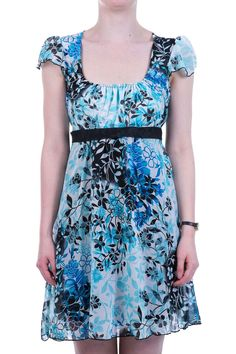 Party & Casual Dresses I Women's Dresses Online Casual Dresses, Summer Dresses, Skater Dress, Spring Outfits, Floral Prints, Short Sleeve Dresses, Colour, Clothes For Women, Womens Fashion