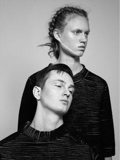 Odalïsque Magazine Nov 2015 Styling: Qim Claesson Photo: Tobias Björkgren Hair & Makeup: Johanna Nomiey