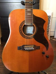 Vintage EKO Ranger Electra 12 String Guitar One Owner | eBay
