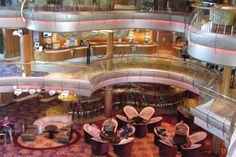 Inside the cruise ship Rhapsody of the Seas. - ABC News ...