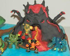 Gormiti's Island Cake