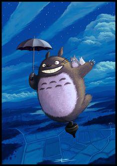 Totoro by ~Tyrus88 on deviantART