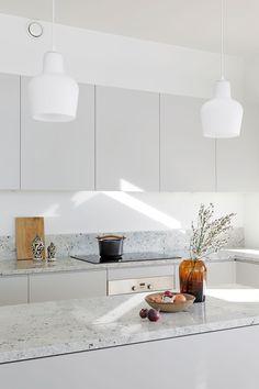 Natural Home Decor .Natural Home Decor Kitchen Room Design, Modern Kitchen Design, Home Decor Kitchen, Interior Design Kitchen, Home Kitchens, Small Modern Kitchens, Nordic Interior Design, Condo Kitchen, Luxury Kitchens