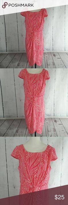 Victoria Secret Pink Dress with Front Twist Large EUC Victoria's Secret Dresses